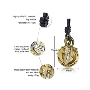 GUNGNEER Stainless Steel Lucky Straight Flush Poker Cross Pendant Necklace Jewelry Men Women
