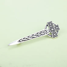 Load image into Gallery viewer, GUNGNEER Celtic Knot Thistle Hair Pin Jewelry Accessories Outfits for Men Women