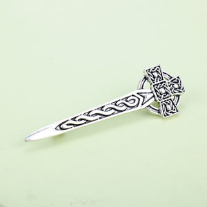 GUNGNEER Celtic Knot Thistle Hair Pin Jewelry Accessories Outfits for Men Women