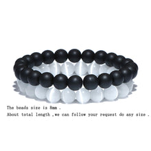 Load image into Gallery viewer, HoliStone Tiger Eye Natural Stone Beads Bracelet ? Anxiety Stress Relief Yoga Beads Bracelets Chakra Healing Crystal Bracelet for Women and Men
