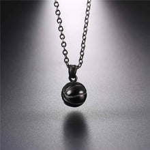 Load image into Gallery viewer, GUNGNEER Hip Hop Basketball Necklace Stainless Steel Sports Jewelry For Boys Girls