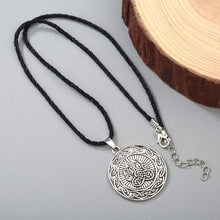 Load image into Gallery viewer, GUNGNEER Celtic Knot Bear Paw Stainless Steel Trinity Pendant Necklace Jewelry Men Women