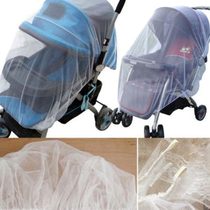 2TRIDENTS Baby Mosquito Net for Strollers, Carriers, Car Seats, Cradles - Ultra Fine Mesh Protection Against Mosquitos, No-See-Ums, and Wasps