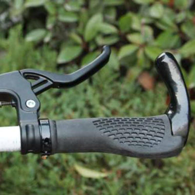 2TRIDENTS 1 Pair of Lightweight Bike Brake Lever - Equipped On The Many Kinds of Handlebar, Such As Cow Horn Handlebar, Rising Handlebar, Bended Handlebar (Black)