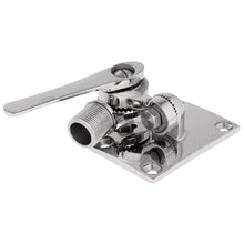 Load image into Gallery viewer, 2TRIDENTS Marine Stainless Steel Ratchet Rail Mount - Special Cable Slot Eliminates Removal of Most Factory-Installed Connectors