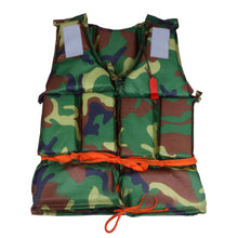 Load image into Gallery viewer, 2TRIDENTS Outdoor Camouflage Swimming Life Jacket Vest for Jet Ski, Boating, Surfing, Sailing, Windsurfing, Fishing, and Other Water Entertainment