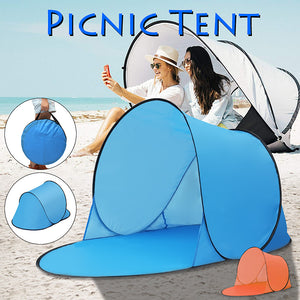 2TRIDENTS Portable Outdoor Waterproof Camping Beach Picnic Tent Pop Up Open Camping Tent Fishing Hiking Automatic Instant Travel Tent