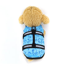 Load image into Gallery viewer, 2TRIDENTS Dog Life Vest Swimming Jackets Lifesaver Reflective Coat Adjustable for Surfing Boating