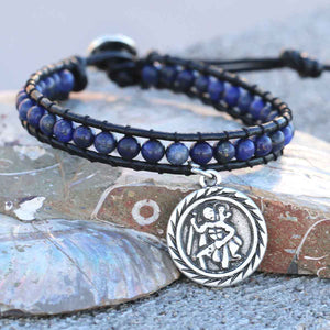 GUNGNEER Saint Christopher Bracelet Catholic Christian Jewelry Accessory For Men Women