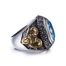Load image into Gallery viewer, GUNGNEER Eye of Providence Ring Biker Signet Eye Jewelry Accessories For Men