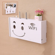 Load image into Gallery viewer, 2TRIDENTS WiFi Router Storage Box Wall Mount - Waterproof Moistureproof - Family Friendly and Environment Friendly (L)