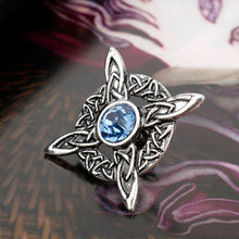 Load image into Gallery viewer, GUNGNEER Celtic Irish Triquetra Knot Hair Pin Brooch Jewelry Accessories for Men Women