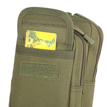 Load image into Gallery viewer, 2TRIDENTS 800D Oxford Cloth Outdoor Tactical Pouch - Perfect for Outdoor Leisure, Mountain Climbing, Travel, Hiking, Expedition, Fishing, Bicycling, Hunting (ACU Digital)
