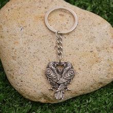 Load image into Gallery viewer, GUNGNEER Celtic Knot Wolf Paw Pendant Necklace Viking Raven Key Chain Jewelry Set Men Women