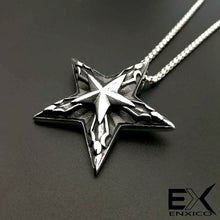 Load image into Gallery viewer, ENXICO Pentagram Charm Pendant Necklace ? 316L Stainless Steel
