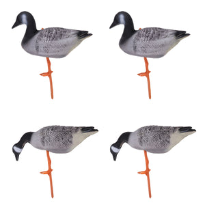 2TRIDENTS Set of 4 Portable Full Body Goose Hunting Decoy - Suitable for Hunting, Gaming, Garden/Backyard Decoration/Ornament and More