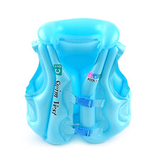 Load image into Gallery viewer, 2TRIDENTS Children Swimming Life Jacket Vest - Help Your Kids Learn to Swim Easily - Have A Nice Summer with Your Baby (Blue, L)