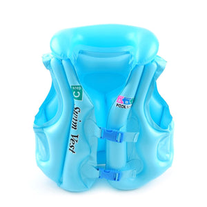 2TRIDENTS Children Swimming Life Jacket Vest - Help Your Kids Learn to Swim Easily - Have A Nice Summer with Your Baby (Blue, L)
