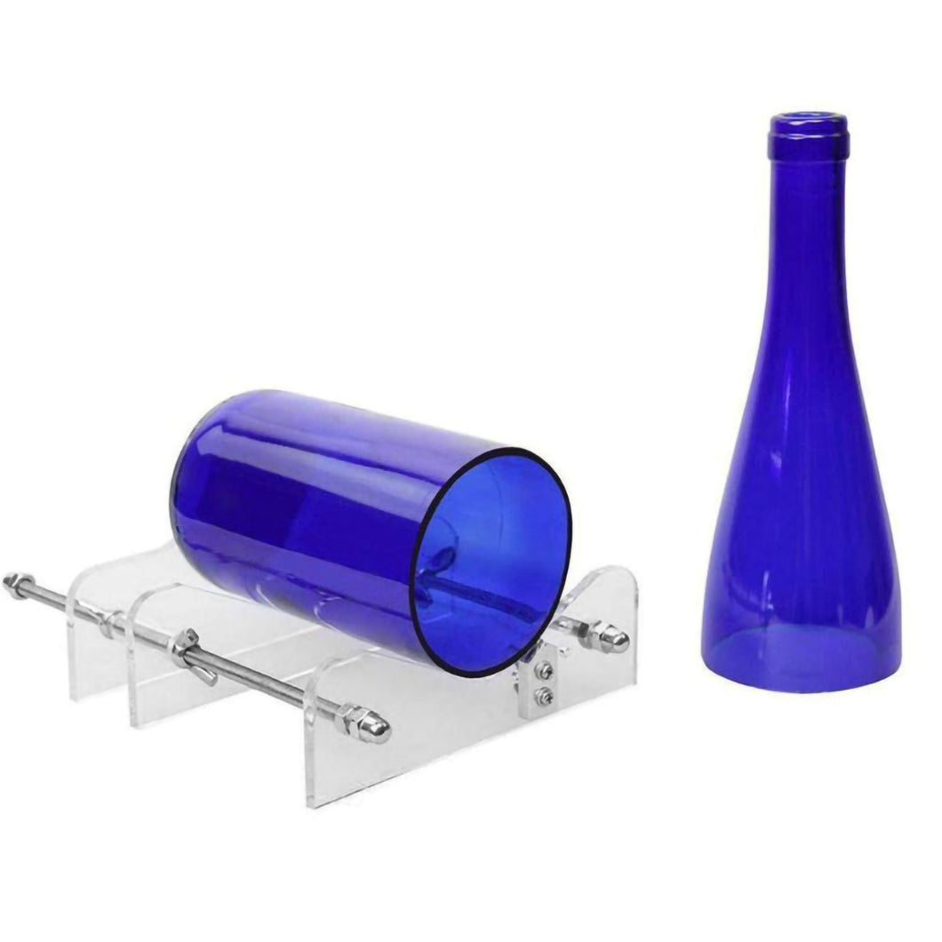 2TRIDENTS Glass Bottles Cutter - DIY Machine for Cutting Wine, Beer, Liquor, Whiskey, Alcohol, Champagne and More