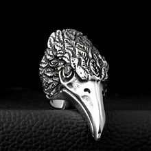 Load image into Gallery viewer, ENXICO Eagle Head Ring ? 316L Stainless Steel ? Animal Spirit Totem Jewelry
