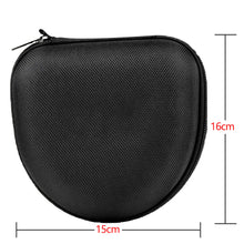 Load image into Gallery viewer, 2TRIDENTS EVA Headset Storage Bag - Protective Accessories for iPod, Earphones, Memory Cards, USB Flash Drive and Lens Filter