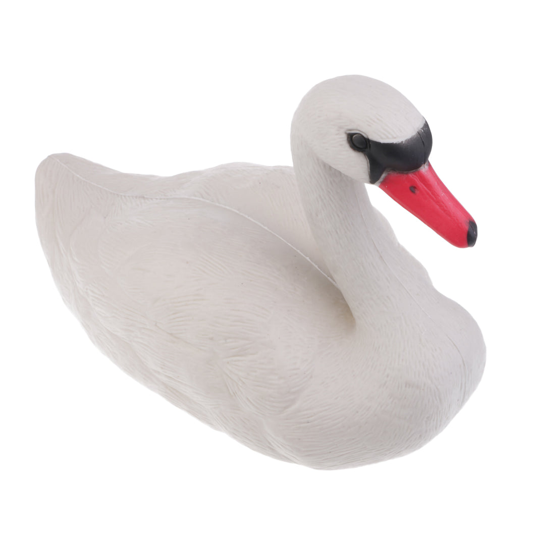 2TRIDENTS 1 Pcs Floating 3D Swan Hunting Decoy - Suitable for Hunting, Gaming, Or Just Be A Garden/Backyard Decoration/Ornament