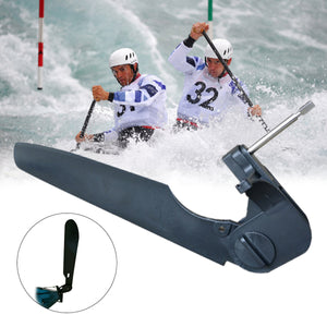 2TRIDENTS Canoe Rudder - Replacement Parts Foot Control Steering System for Seayak, Kayak, Canoe, Angling Boat and More