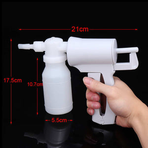 2TRIDENTS Portable & Manual Suction Pump Handheld Suction Device White Handheld Suction Easily Pumping