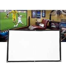 Load image into Gallery viewer, 2TRIDENTS Foldable Projection Screen HD 16:9 - Projection Cine Screen for Company Home Outdoor Activities (100 inch)