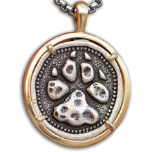 Load image into Gallery viewer, ENXICO Bear Paw Amulet Pendant Necklace ? 316L Stainless Steel ? Nordic Scandinavian Viking Jewelry