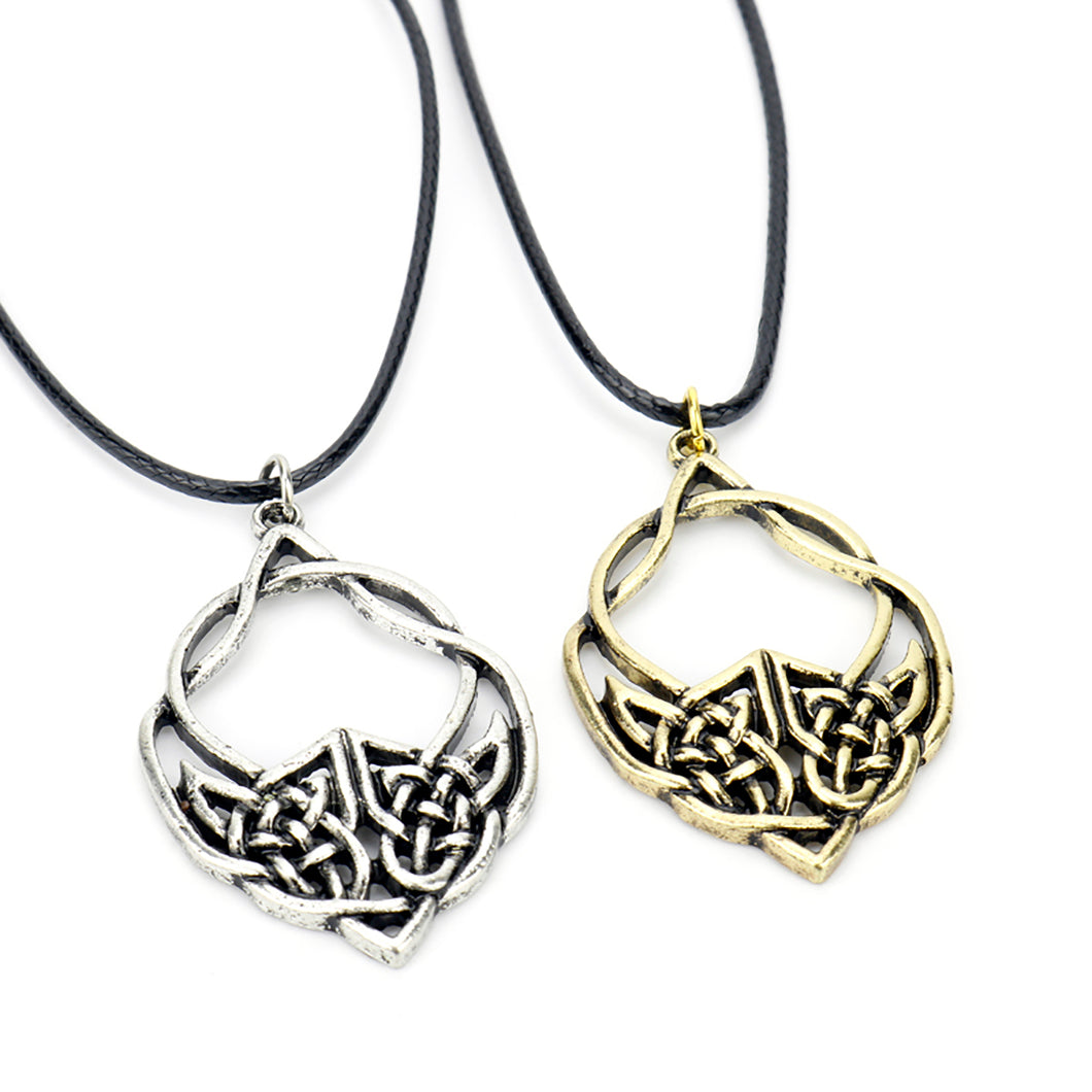 ENXICO Celtic Knot Charm Pendant Necklace for Men Women ? Irish Celtic Jewelry (Copper)