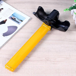 2TRIDENTS Anti-Theft Security Rotary Steering Wheel Lock - Security Device for Car, Van, Lorry, Boat