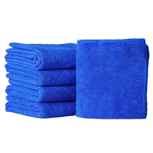 Load image into Gallery viewer, 2TRIDENTS 25 Pcs Thick Microfiber Towels - Car Drying Wash Detailing Buffing Waxing Polishing Towel - Multi-Functional Superfine Fiber Scouring Cleaning Cloths