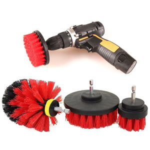 2TRIDENTS Power Scrubbing Drill Brush Attachment Kitchen Cleaning Tool