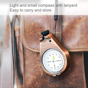 2TRIDENTS Classic Compass, Greater Accuracy Waterproof Compass, Durable and Lightweight Compass - an Awesome Compass for Wilderness Adventure Traveling.