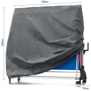 2TRIDENTS Waterproof Table Tennis Cover - Protect Your Furniture from Rain, Snow, Frost, Bird Droppings and More