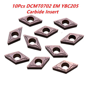 2TRIDENTS 10 Pcs Carbide Insert Boring Bar Turning Tool For Lathe Milling Cutter CNC Tool Steel Processing For High Hardness Materials And Cast Iron