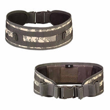 Load image into Gallery viewer, 2TRIDENTS Tactical Belt - Versatile Design For Hunting, Shooting, Tactic, Airsoft, Paintball, military, Cycling, Biking (ACU)