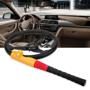 2TRIDENTS Steering Wheel Locks Anti Theft Lock with 2 Keys for Vehicle Car Truck Van SUV - for Vehicle Safety
