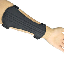 Load image into Gallery viewer, 2TRIDENTS Archery Arm Guard - PU Leather - with 2-Strap Buckles - Adult Arm Protector