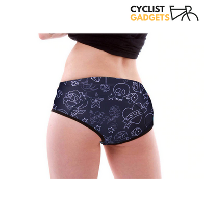 Womens Padded Cycling Underwear
