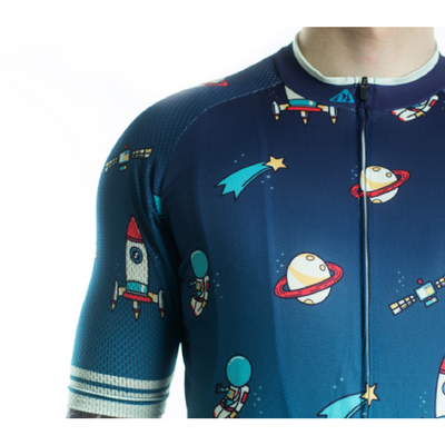 """Space Ships"" Pro Cycling Jersey"