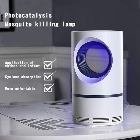Photocatalytic mosquito destroyer lamp 【non-toxic, safe, energy-saving, healthy】