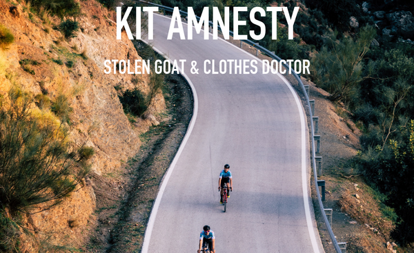 STOLEN GOAT X CLOTHES DOCTOR KIT AMNESTY: FEATURED BY CYCLING INDUSTRY NEWS
