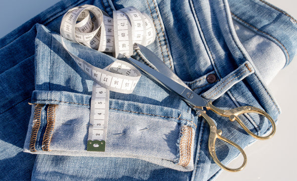 How To Hem Jeans By Hand