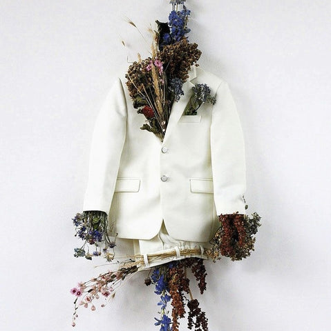Clothes with flowers