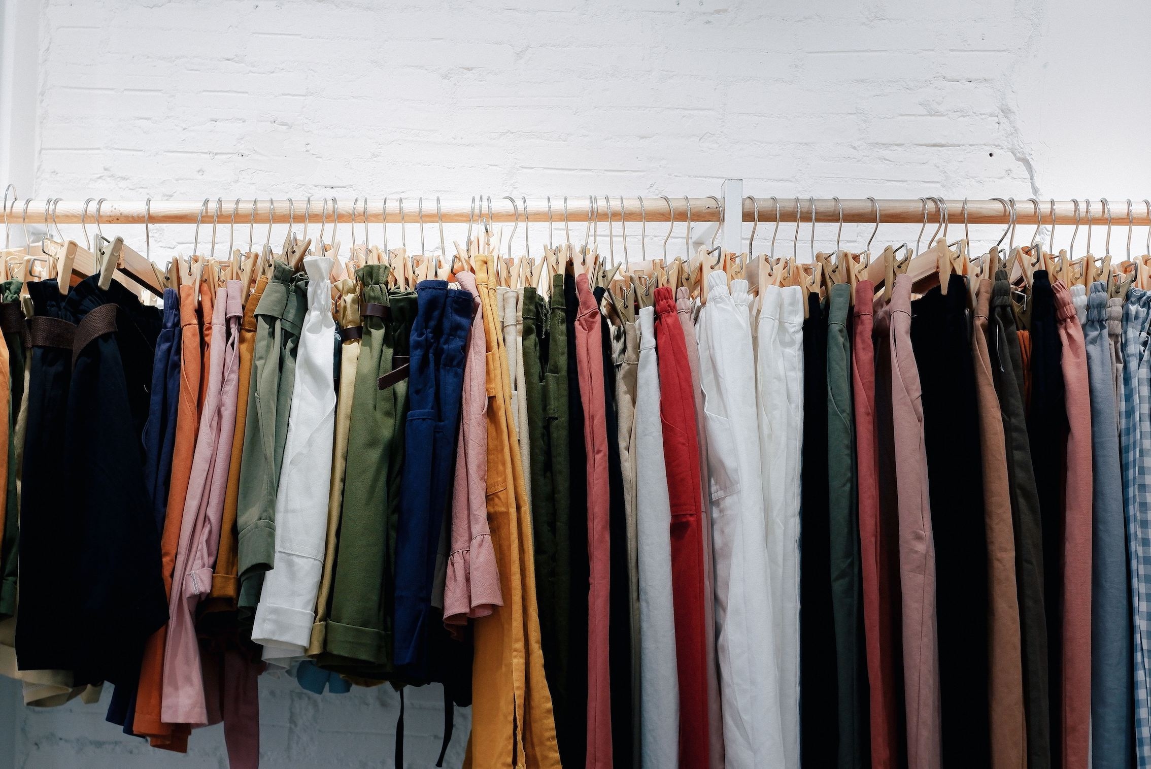 pre-loved vintage second-hand shopping
