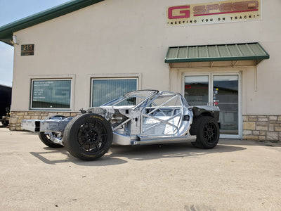 GSpeed Corvette rolling chassis program