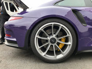 Essex Designed AP Racing 2-piece Competition J Hook Disc Pair (Rear 390x32mm)- Porsche 991.1 & 991.2 GT3, GT3RS PCCB