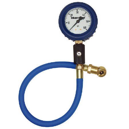 "2.5"" Ultra Deluxe 60PSI air pressure gauge"